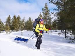 taivasalla-hiihtovaellus