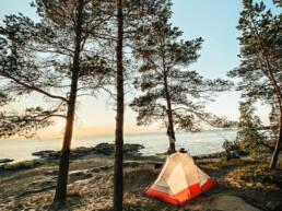 teltassa nukkuminen